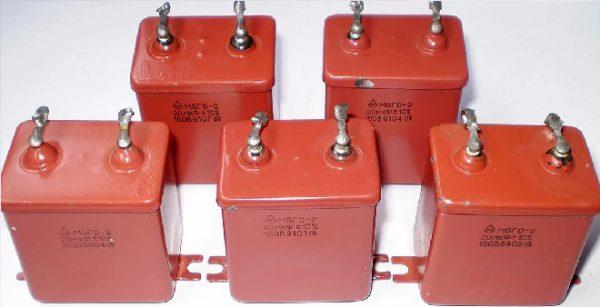 Емкостные конденсаторы