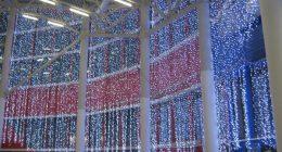 Плей-лайт больших размеров внутри торгового центра