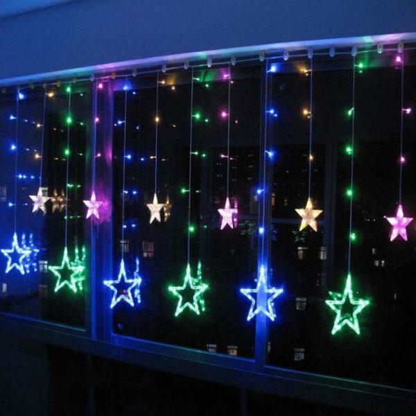 Внешний вид гирлянды из светодиодных лампочек