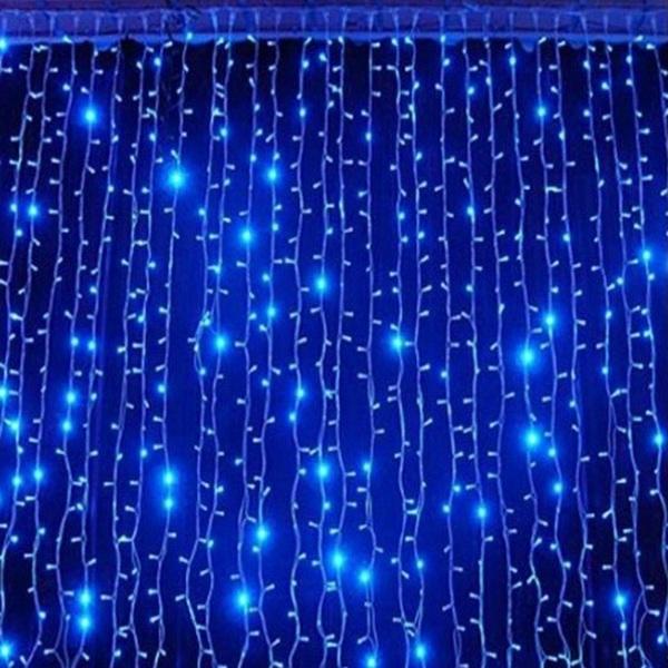 Гирлянда «капающий дождь» – эффектное световое решение