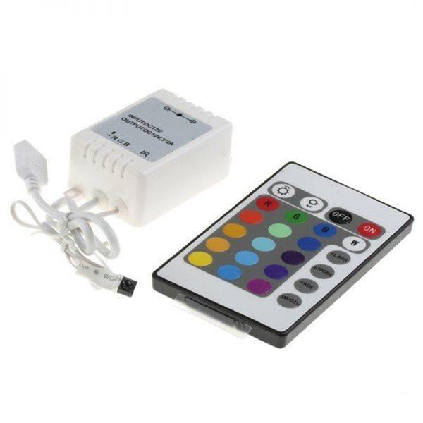 Контроллер для гирлянды «Умный дождь» и регулирующий пульт
