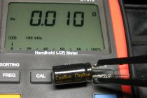 Измерение емкости конденсатора