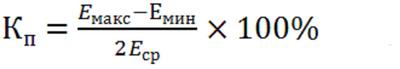Формула для оценки коэффициента