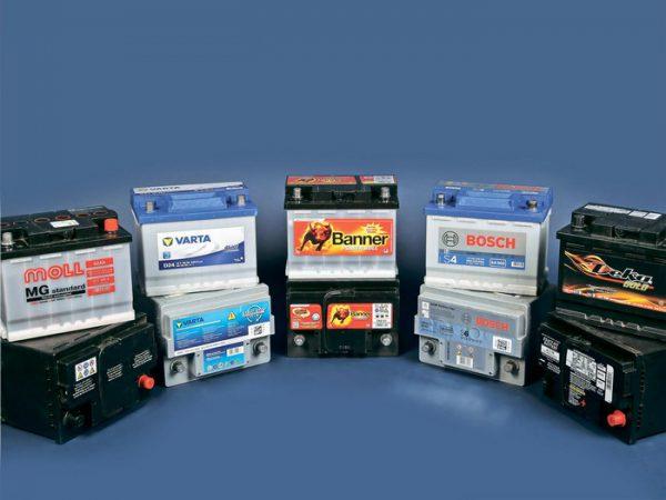 Автомобильные аккумуляторы разных производителей