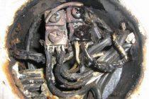 Сгоревший клемник