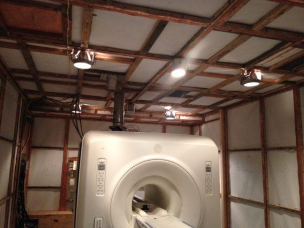 Экранированный кабинет МРТ
