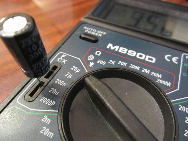 Измерение электрической ёмкости