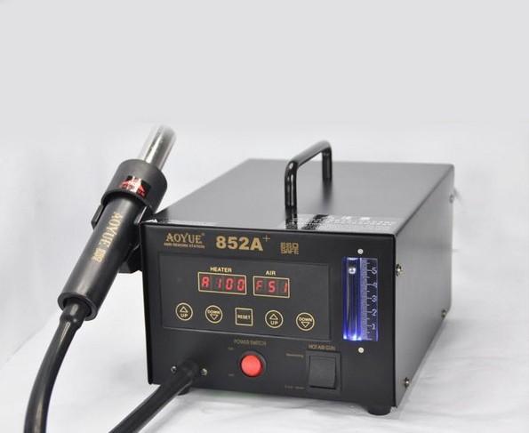 Термовоздушная паяльная станция с компрессором