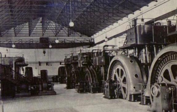 Первая крупная электростанция в Москве