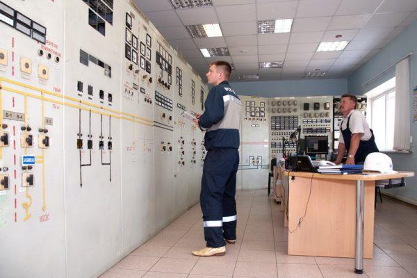 Щит управления подстанцией