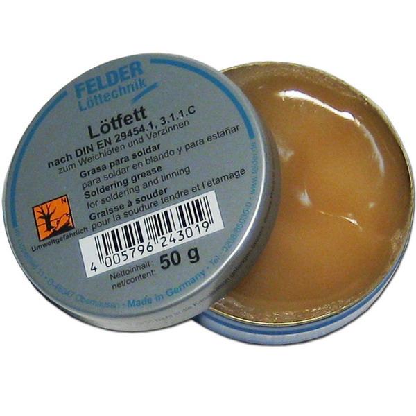 Нейтральный жировой материал в 50-тиграммовой банке от компании Lotfett Felder