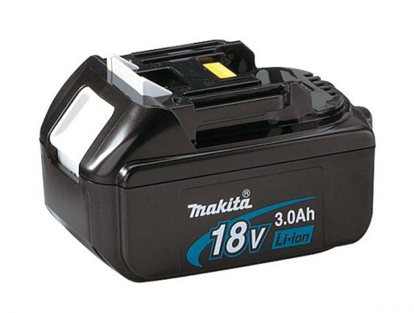 Литий-ионный аккумулятор от шуруповерта компании Makita, емкость 3000 мАч на 18 V