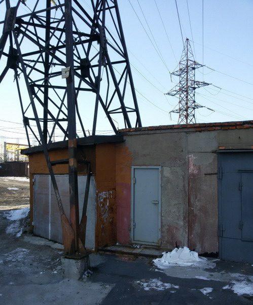 Незаконное строительство в охранной зоне ЛЭП