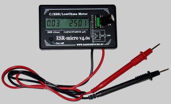 Прибор «ESR-micro v4.0s»
