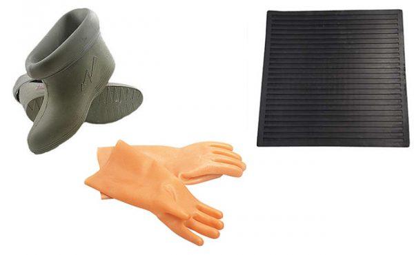 Диэлектрические перчатки и боты