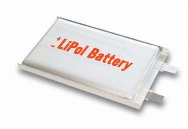 Внешний вид литий-полимерного аккумулятора