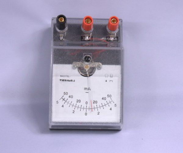 Лабораторный миллиамперметр