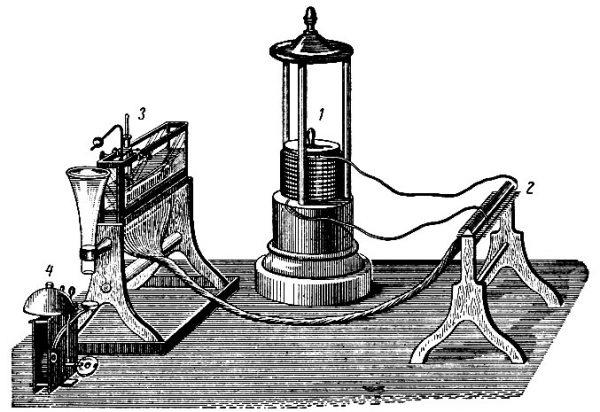 Электромагнитный телеграф Земмеринга