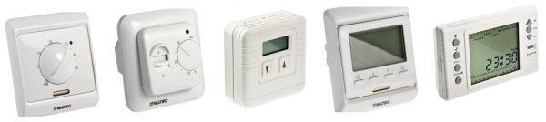 Различные виды терморегуляторов