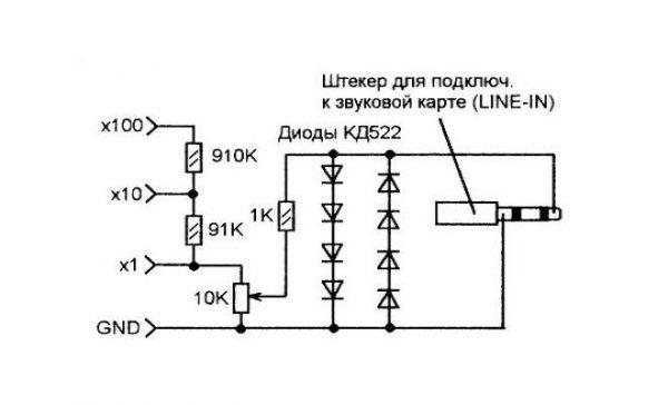 Схема приставки к ЗК
