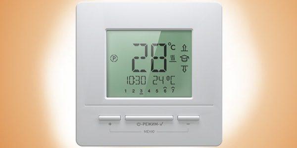 Термостат с контролем температуры