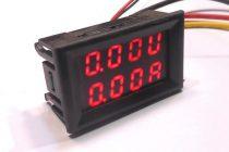 Внешний вид цифрового ампервольтметра – наиболее распространенный вариант измерителя