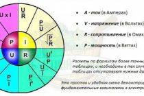 Формулы расчёта электрической мощности