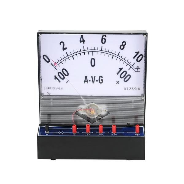 Демонстрационный ампервольтметр с гальванометрическими возможностями