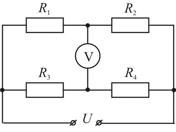 Схема параллельного подключения вольтметра в сеть