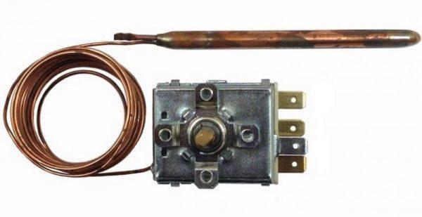 Механический термостат с газонаполненным датчиком