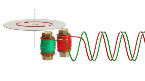 Индукционный мотор, работающий на вихревых потоках