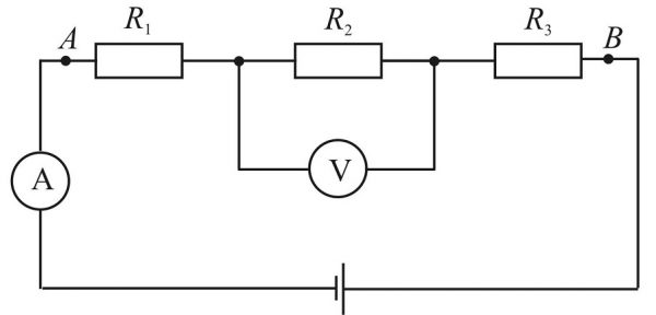 Подключение добавочного сопротивления (резисторов) на схеме для увеличения точности вольтметра