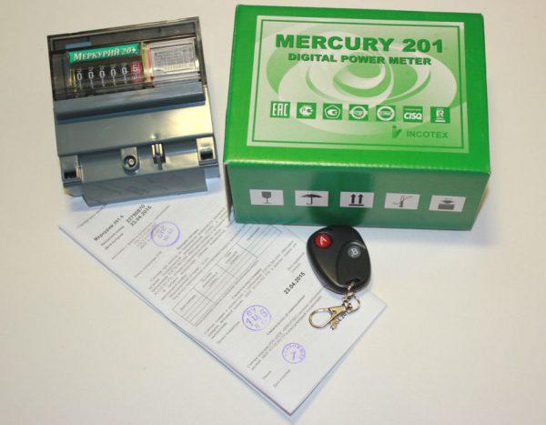 Преимущества счетчика Меркурий 201