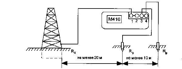 Подключение прибора по трехзажимной схеме