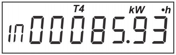 Показания для тарифа Т4
