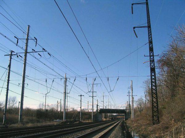 Контактная сеть железных дорог