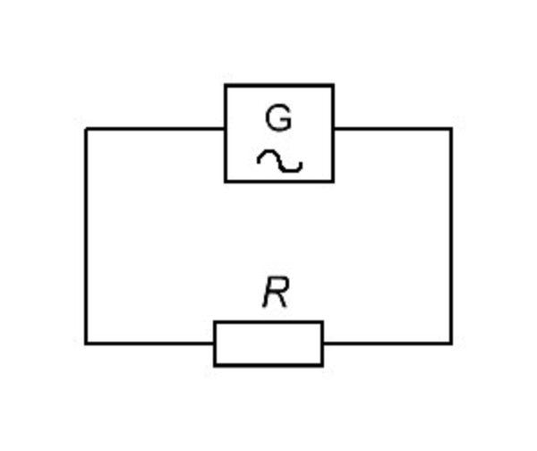Графическое обозначение элемента с активным свойством в электротехнике