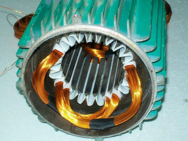 Перемотка коллекторных двигателей