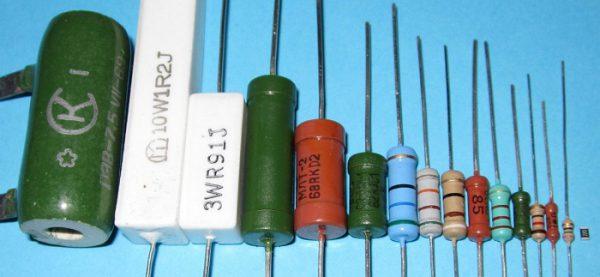 Резисторы с маркировкой
