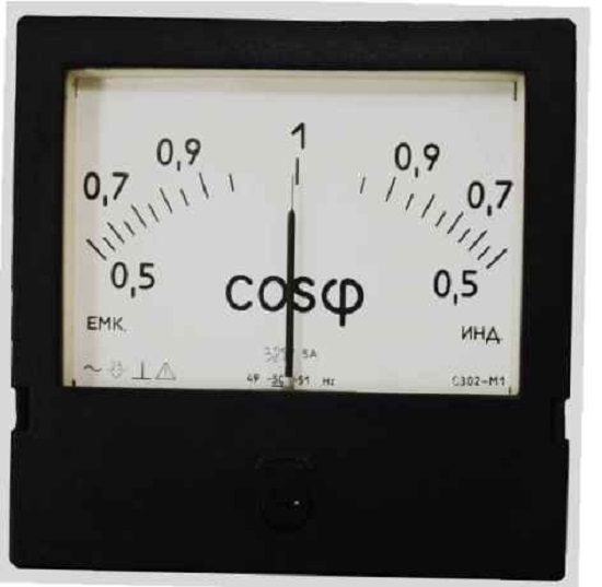 Фазометр для измерения соsφ