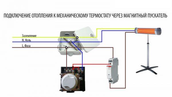Схема с использованием автомата