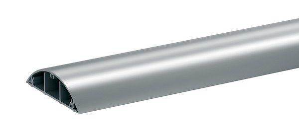Алюминиевый напольный монтажный короб