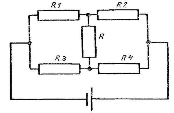 Стыковка резисторов, не являющаяся смешанной