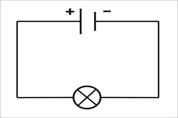 Простейшая электрическая цепь