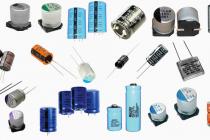 Различные типы конденсаторов