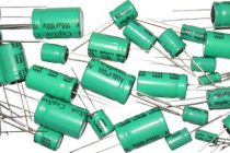 Неполярные электролитические конденсаторы