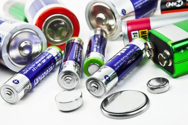 Различные виды батарей