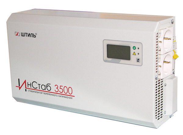ИнСтаб 3500 – одна из моделей стабилизатора