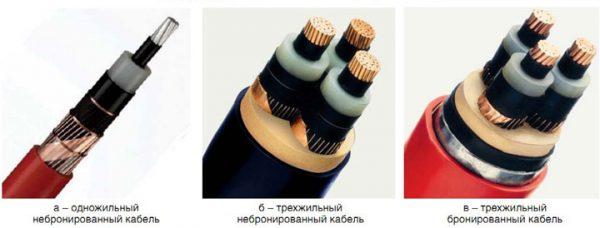 Разновидности кабелей из СПЭ