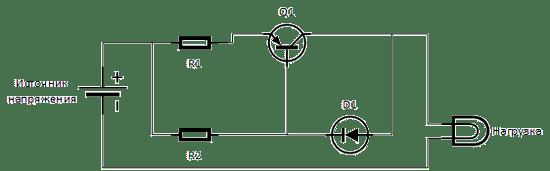 Один транзистор